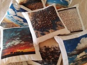 Fiona Lake's outback cushion covers
