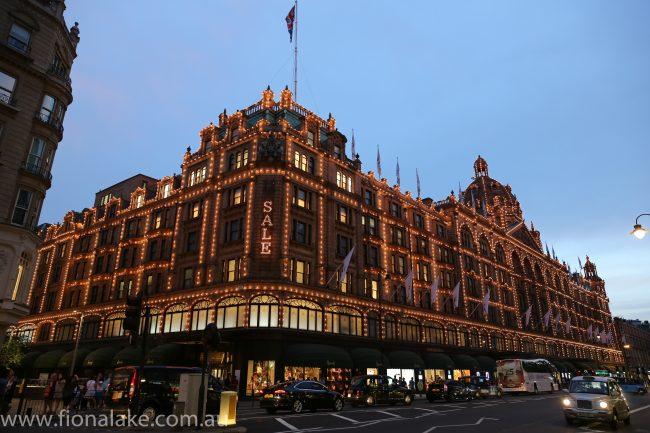 Harrods Department Store, London