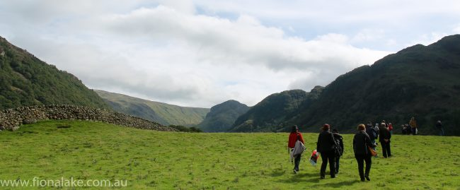 The farm tour includes plenty of opportunites for walks around farms and villages