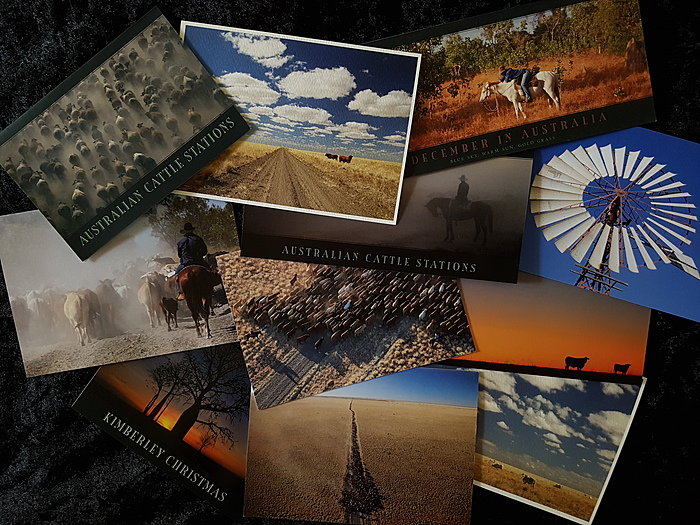Fiona Lakes Outback Greeting Cards