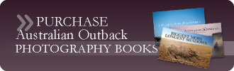 Purchase Australian Outback Photography Books